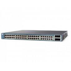 Коммутатор Cisco WS-C3560E-48PD-S