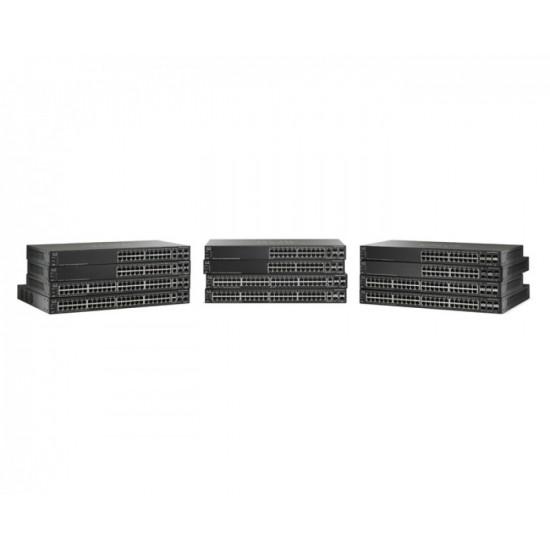 Коммутатор Cisco SG500X-24MPP