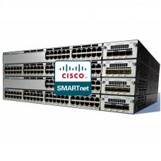 CON-SNT-3750X2TS Cisco SMARTnet сервисный контракт коммутатора Catalyst WS-C3750X-24T-S 8X5XNBD 1год