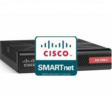 CON-SNT-ASA556K8 Cisco SMARTnet сервисный контракт межсетевого экрана ASA5506 8X5XNBD на 1 год