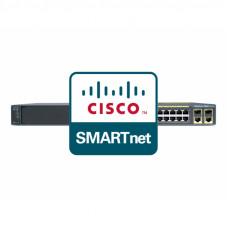 CON-SNT-C29602LT Cisco SMARTnet сервисный контракт коммутатора Catalyst WS-C2960-24TT-L 8X5XNBD 1год