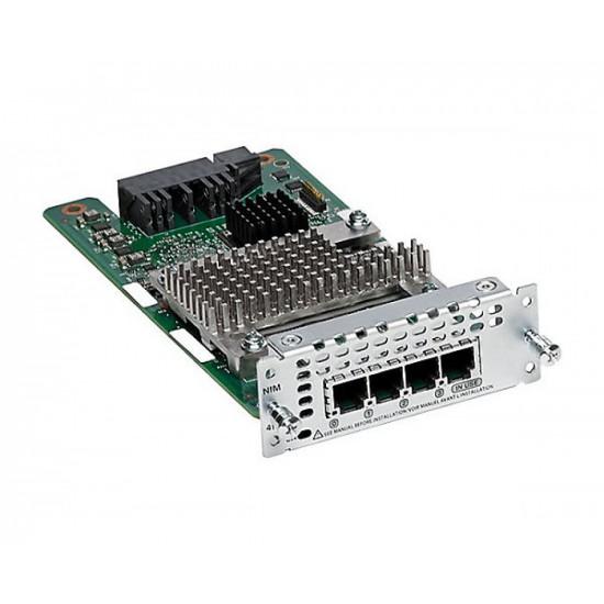 Модуль расширения Cisco NIM-4FXS