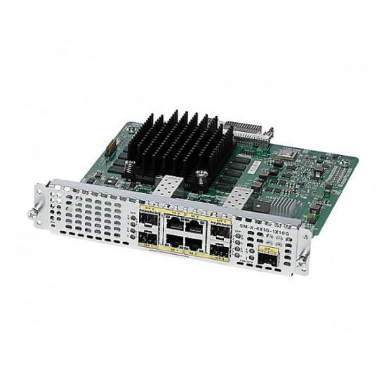 Модуль расширения Cisco SM-X-4X1G-1X10G