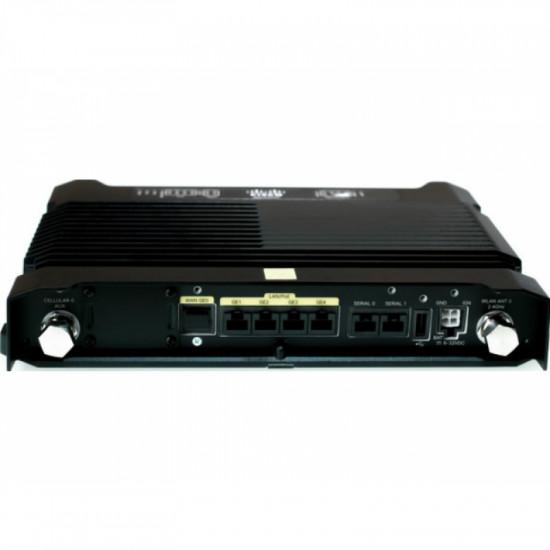 IR829GW-LTE-GA-EK9 IR829 4G маршрутизатор LTE, WAN 1 x SFP, LAN 4 x FE, 802.11n, 20 IPSec VPN