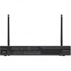 C897VAG-LTE-GAK9 Cisco DSL маршрутизатор WAN 1 x VDSL2/ADSL2/2+, LAN 4 x FE RJ-45, 2 x SIM