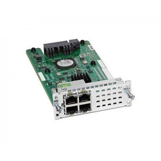 Модуль расширения Cisco NIM-4E/M