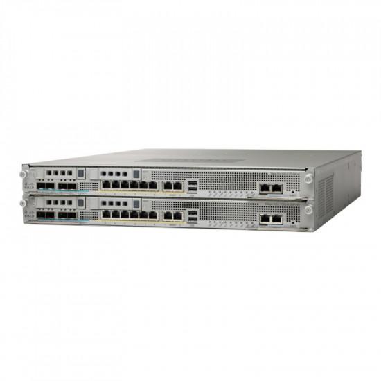 ASA5585-S60-K8 Cisco ASA 5585-X SSP-60 межсетевой экран 6 x GE RJ-45, 4 x 10 GE SFP+ 10000 IPSec VPN
