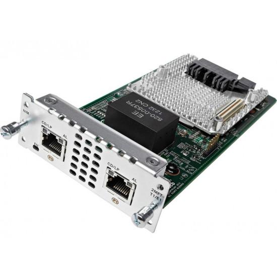 Модуль расширения Cisco NIM-2MFT-T1/E1