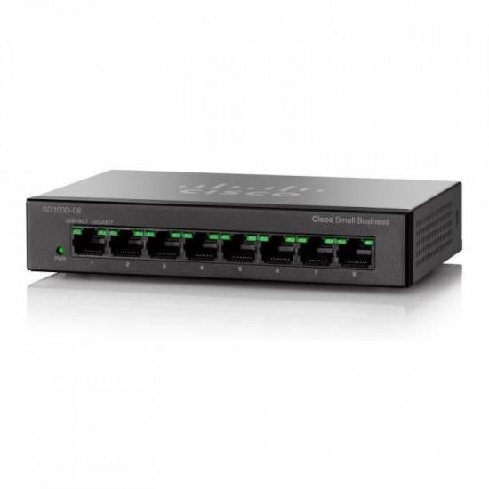 Коммутатор Cisco SG110D-08-EU