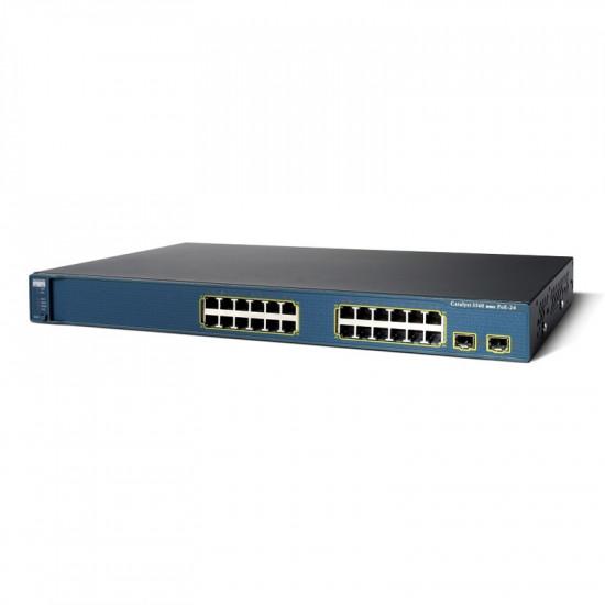 Коммутатор Cisco WS-C3560V2-24PS-E