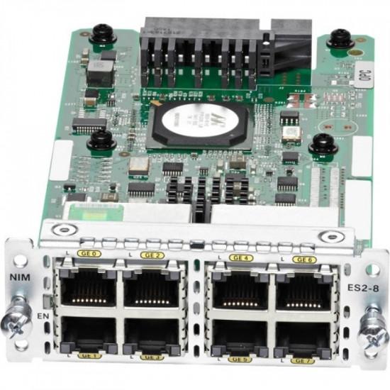 Модуль расширения Cisco NIM-ES2-8-P