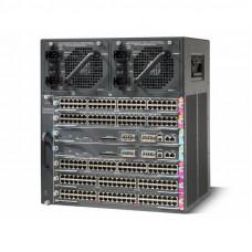 WS-C4507R-E Cisco Catalyst 7-и слотовое шасси модульного коммутатора. 11U, без БП