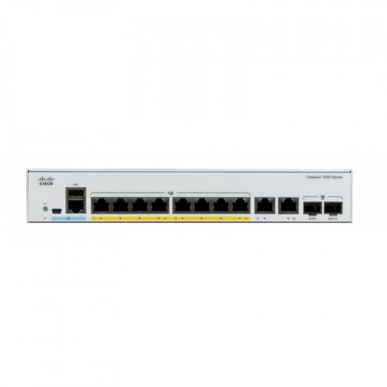 Коммутатор Cisco C1000-8P-2G-L
