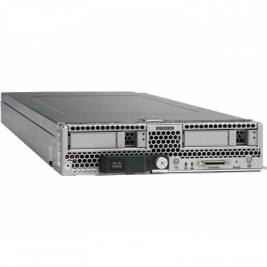 UCS-SPL-B200M4-S1 Cisco UCS блейд-cервер B200 M4 2 x Intel Xeon E5-2630 V3, DDR4 128 Гб (max 768 Гб)