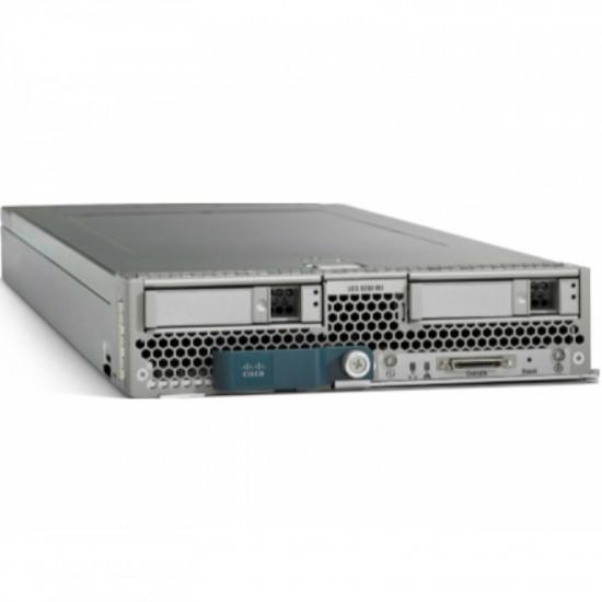 UCS-SPL-B200M4-A1 Cisco UCS блейд-cервер B200 M4 2 x Intel Xeon E5-2690 V3, DDR4 256 Гб (max 768 Гб)